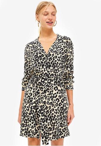 af5af509af Buy TOPSHOP Animal PJ Shirt Dress Online on ZALORA Singapore