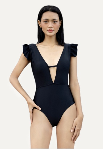 Bluepalm black Cauit One Piece Swimsuit 6DEE4USE3F3453GS_1