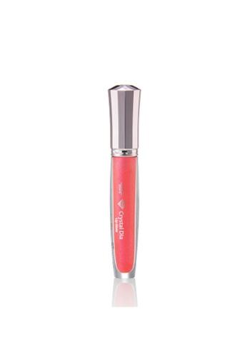Talent Cosmetics pink Talent - Crystal Dia Lip Gloss 08 Coral Pink TA526BE0RA3MMY_1