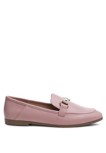 London Rag pink Pink Horse bit Loafer 3B60ESH36C851FGS_1