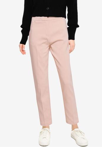 KOTON beige Slim Leg Trousers E4698AA902CC36GS_1
