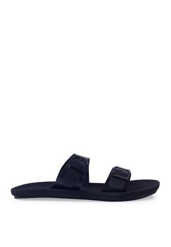 Minarno black Black Abel Strap Sandals MI641SH68ORVID_1