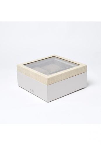 Grassroots grey Watch Box (Small) 08F9AHL6753699GS_1