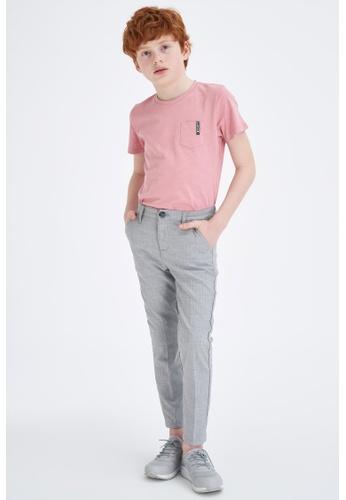 DeFacto grey Boy Woven Bottom Trousers 188A2KA076DA96GS_1