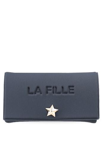 La Fille Des Fleurs grey Grand Palais Wallet D2C50ACE54D5F4GS_1