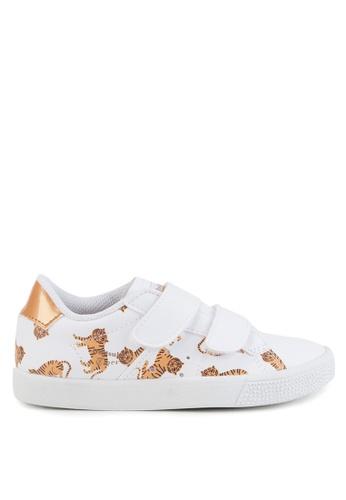 Onitsuka Tiger white Lawnship Preschool Shoes C29B2KSA86BC67GS_1