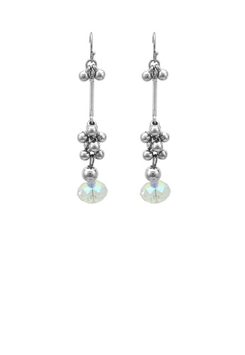 Glamorousky silver Glaring Earrings with Silver Austrian Element Crystal 61935AC909F82EGS_1