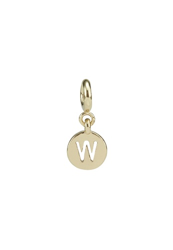 My Flash Trash gold Gold letter charm w FD102ACE00F717GS_1