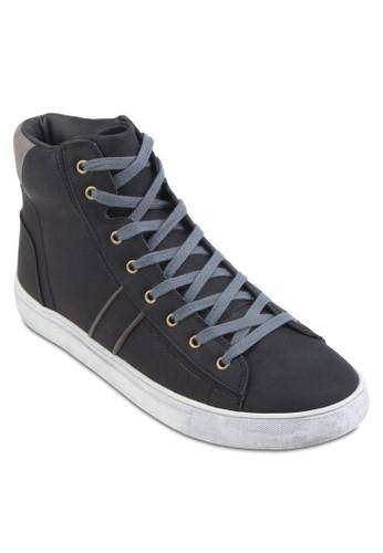 高筒繫帶休閒鞋、 鞋、 鞋ZALORA高筒繫帶休閒鞋最新折價