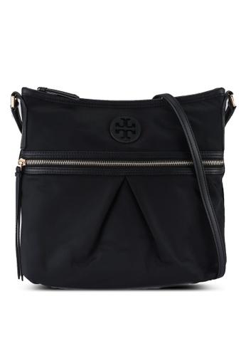 TORY BURCH black Nylon Swing Pack Shoulder Bag (NT) AB782ACD367FE8GS_1