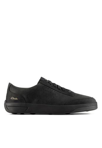 Clarks CLARKS Hero Air Lace Black Nubuck Mens Sport Shoes 3E7E5SH040A2F0GS_1