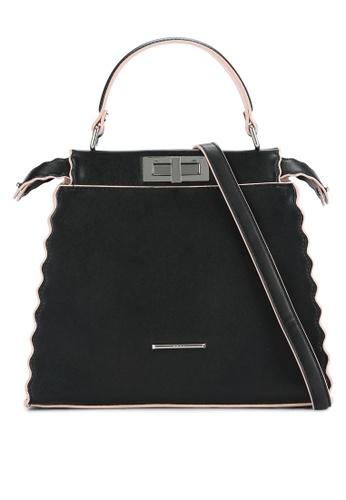 Nose black Duo Tone Top Handle Bag NO327AC0RC9EMY_1