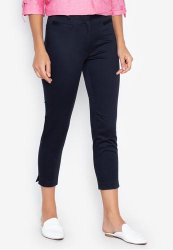 4c01d2dd57 Shop DEBENHAMS The Collection - Cotton Crop Trousers Online on ZALORA  Philippines