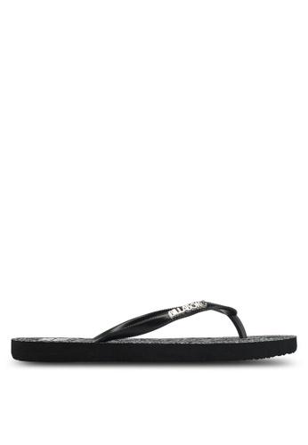 Billabong black Radiance Thong Sandals BI783SH0SZBPMY_1