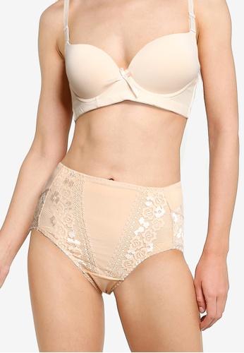 Impression beige Lace Panties 60328US42E070BGS_1