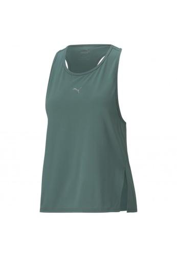 PUMA green PUMA COOLadapt Women's Running Tank Top F4674AA5D5286FGS_1