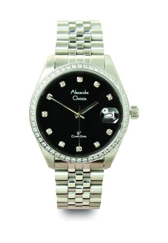 Alexandre Christie silver Jam Tangan Pria AC 5008 MDBSSBA Strap Stainless Steel F9139AC722416EGS_1