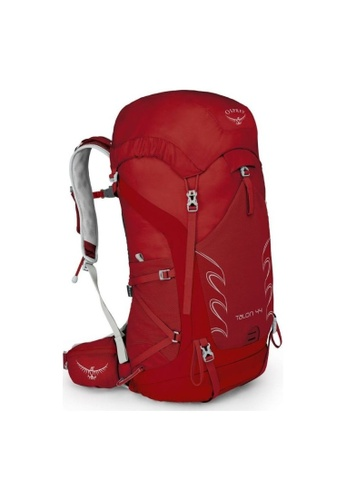 Osprey red Osprey Talon 44 Backpack - Small/Medium - Men's Light Backpacking (Martian Red) 8E67DACBAA037BGS_1