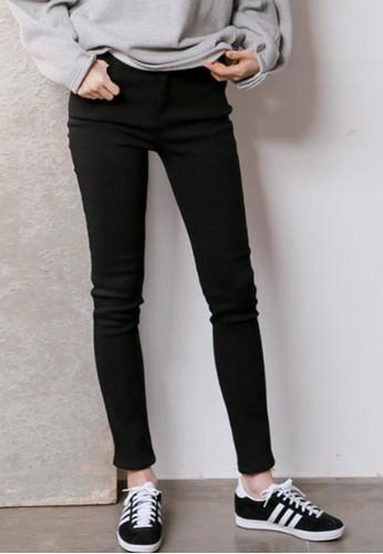 加絨zalora時尚購物網的koumi koumi緊身長褲, 服飾, 緊身褲