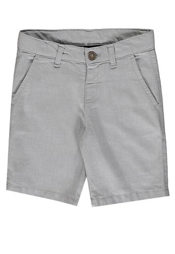 LC Waikiki grey Basic Gabardine Boy's Shorts 7322DKA2F3B4EAGS_1