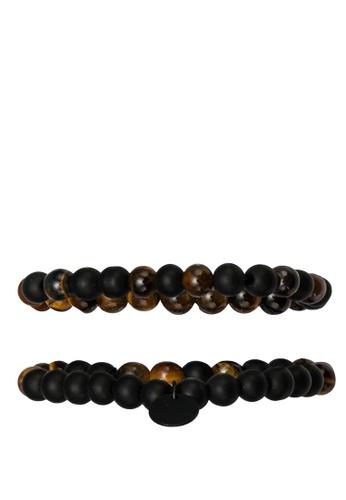 ALDO brown Feide Bracelet Set 0AA55AC7D7F527GS_1