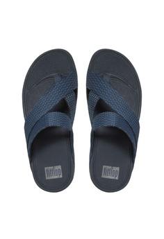 88f661ee5 Fitflop Fitflop Sling Weave Toe Post Super Navy  Deep Blue RM 369.00. Sizes  8 9 10 11