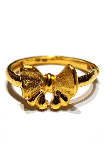 LITZ gold LITZ JINXI 999 (24K) Gold Ribbon Ring 49396ACCC549DBGS_1