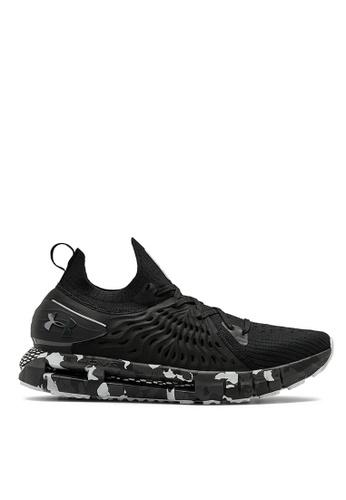 Under Armour black UA HOVR Phantom RN Ops Running Shoes E36C4SH77181B0GS_1
