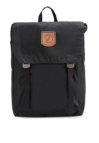 Fjallraven Kanken black Black Foldsack No.1 Backpack FJ382AC55RJCMY_1