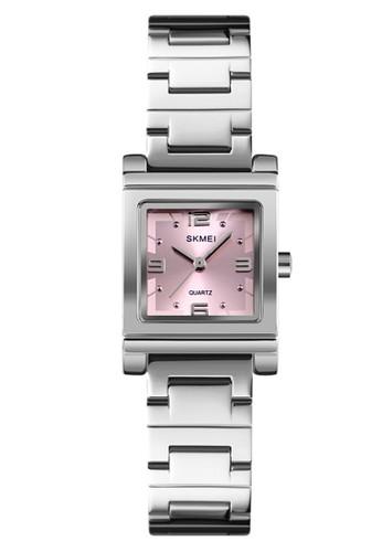 Digitec silver Skmei - Jam Tangan Wanita - Silver - Stainless Steel Bracelet - 1388-A 3FB83ACE2033F1GS_1