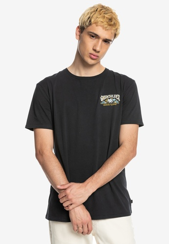 Quiksilver black Baja Road T-Shirt ED6C0AA8A8B3E1GS_1