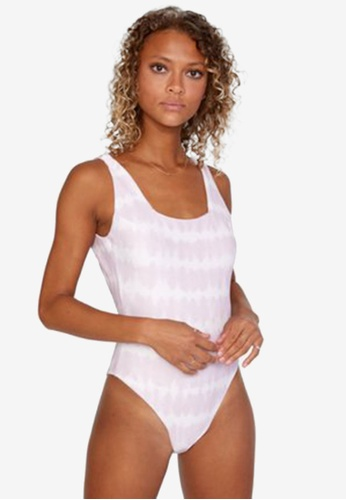 RVCA purple Live And Let Swimsuit 47E32USE7F3078GS_1