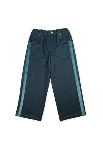 Vauva blue Vauva Kids Straight Pants - Blue FE8C5KABFCABE0GS_1