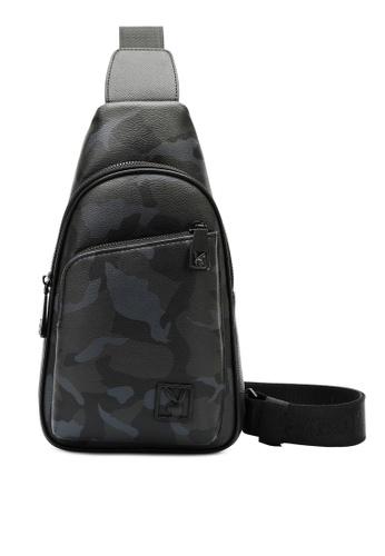 Playboy grey Logo Crossbody Bag BE397AC8F0192FGS_1