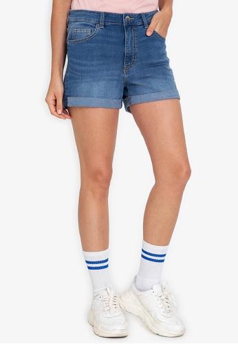 H&M blue Denim Shorts BBE09AA7E6A1EBGS_1