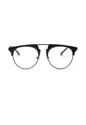 Kyfer's Eyewear & Essentials black Kool Aviator Glasses KY376AC0GKZ3SG_1