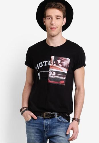 Boss Orange black Toolbox 4 T-Shirt BO434AA02MGJMY_1