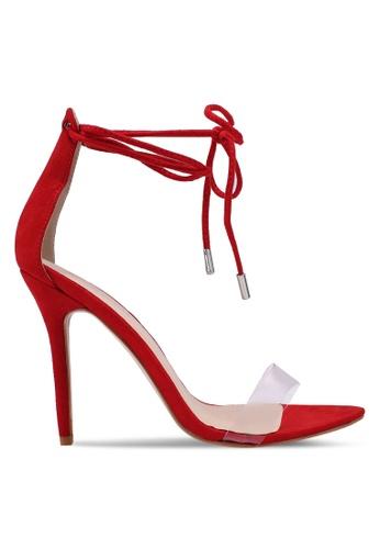 Public Desire red Stefani Heels FF317SHE10C984GS_1