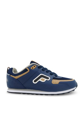 FANS navy Fans Eureka N - Running Shoes Navy Tan FA469SH05OPMID_1