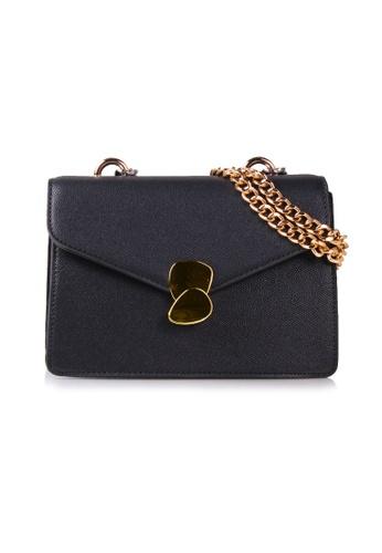 VOIR black VOIR Edgy Chunky Chain Handle Shoulder Bag - Black 36B5DACC186B51GS_1