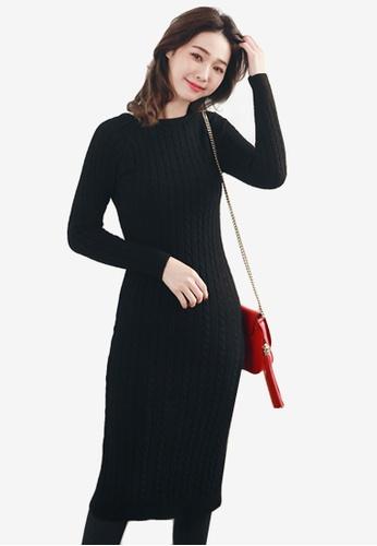 d6236b8c2f Shop Sesura Sultry Luxe Knit Dress Online on ZALORA Philippines