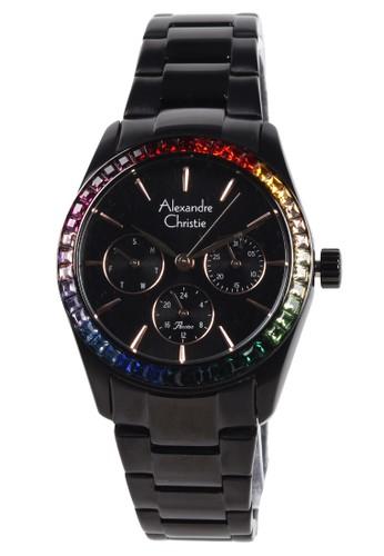 Alexandre Christie black Alexandre Christie - Jam Tangan Wanita - Black - Stainless Steel Bracelet - 2876BFBIPBA 0F60AACE41DCD6GS_1