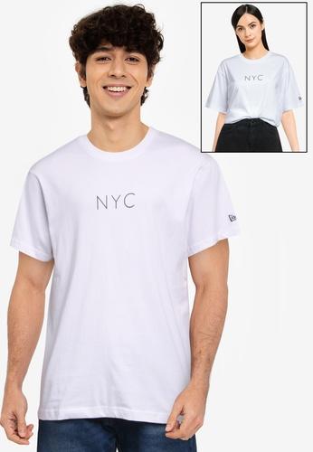 NEW ERA white AP NYC Heavy T-Shirt 74BA1AA4608624GS_1