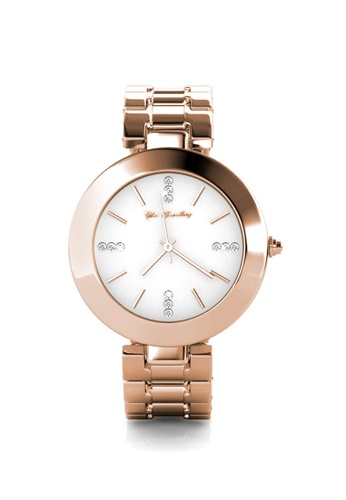 Her Jewellery gold Goldy Watch (Rose Gold) - Made with premium grade crystals from Austria 2F8CFAC6A8409AGS_1
