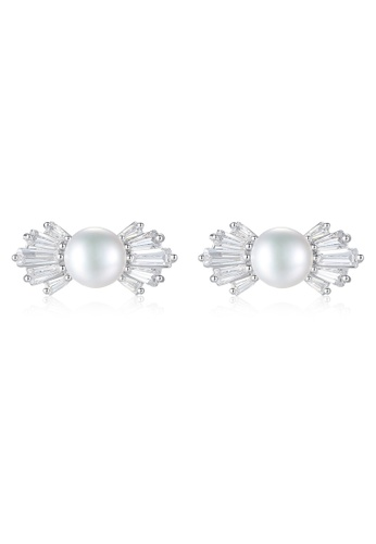 A.Excellence white Premium White Pearl Elegant Earring EEF35ACFAB1857GS_1