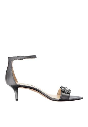 Nine West silver NWLECIA Open Toe Sandals NI432SH0GHR2SG_1