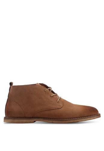 Twenty Eight Shoes brown Basic Boots D54B3SH4B83743GS_1