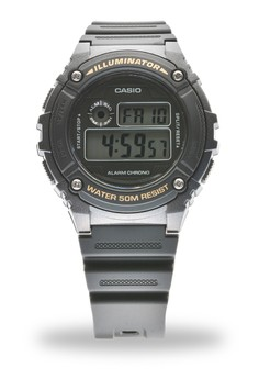 Digital W-216H-1A Watch