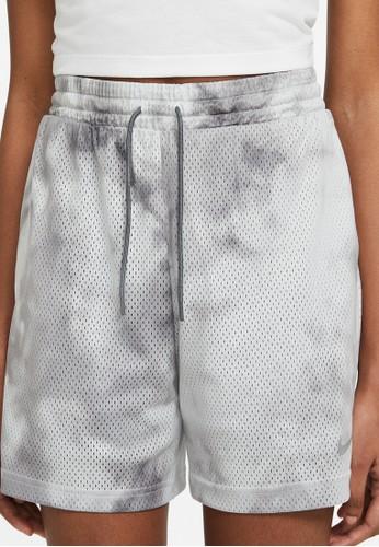 Nike grey Sportswear Icon Clash Shorts 14F0BAA648B376GS_1