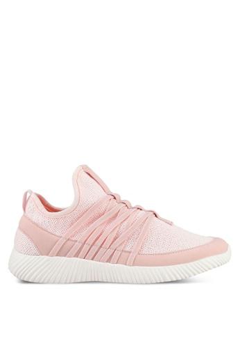 Rubi pink Faith Sock Trainers 0CB8ESH13ABB77GS_1